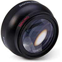 Muicatte 52mm 0.45X Fisheye Wide Angle Macro Lens for Nikon D3200 D3100