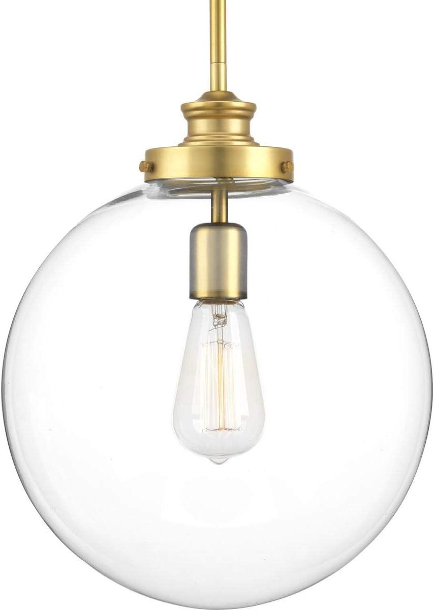 Progress Lighting P5328-137 Penn Pendants, Brass