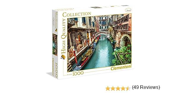 Clementoni 39328.2 dise/ño Canal de Venecia Puzzle de 1000 piezas