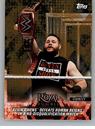 Amazon.com: 2018 Topps Road to WrestleMania Bronze #11 Luke Gallows/Karl Anderson Win the Raw Tag Team Championship NM-MT: Collectibles & Fine Art