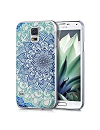 Qissy®TPU Art Designed Pattern Silicone Case Cover for SAMSUNG GALAXY S5