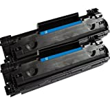 2 Pack Aria Compatible HP CE285A 285A 85A P1102 P1102w M1212n Toner, Office Central