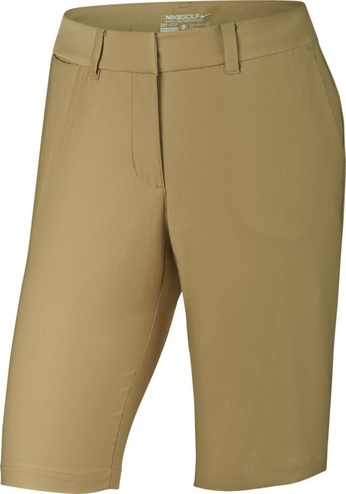 Nike Golf CLOSEOUT Women's Bermuda Tournament Shorts (Khaki) (4)