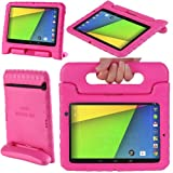 i-Blason ArmorBox Kido Series for Google New Nexus 7 2 FHD (2nd Generation) Light Weight Super Protection Convertable Stand Cover Case for Kids (Pink)
