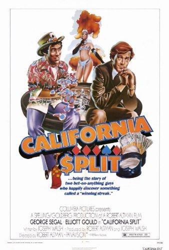 California Split POSTER Movie (27 x 40 Inches - 69cm x 102cm) (1974) (California Split Dvd compare prices)