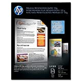 Wholesale CASE of 10 - HP Laser Presentation Glossy Paper-Presentation Paper, GE 97, 32 lb., 8-1/2''x11'', 250/PK, White