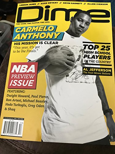 Dime Magazine (ISSN: 1554-7159) (November 2009 / Issue #53, Volume 8, Issue 6) - Dime Sports Magazine