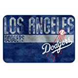 The Northwest Company MLB Los Angeles Dodgers Embossed Memory Foam Rug, One Size, Multicolor