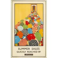 London Underground - Summer Sales 1925 - LU046 Superior Canvas A2 Size