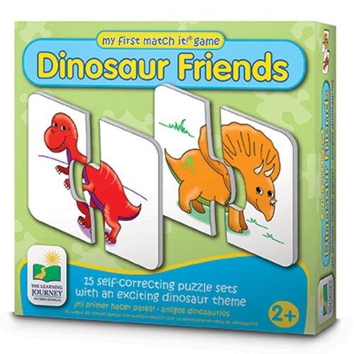 The Learning Journey My First Match It - Dinosaurs - 15 Self