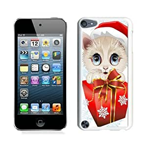 Hot Sell Design Christmas Cat White iPod Touch 5 Case 22 by lolosakes