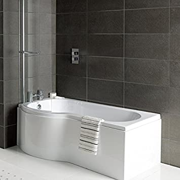 JTPickfords-Bathrooms.co.uk Solar P Form für Bad/Dusche, Badewanne ...