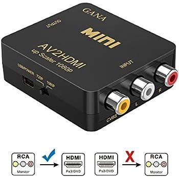 Amazon rca to hdmi av to hdmi gana 1080p mini rca rca to hdmi av to hdmigana 1080p mini rca composite cvbs av to sciox Gallery