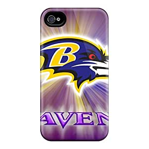 Durable Hard Cell-phone Case For Iphone 6 (rOr15907gkVF) Allow Personal Design Fashion Baltimore Ravens Skin