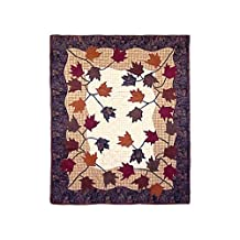 Rustling Leaves, Lap Quilt 50 X 60 In.
