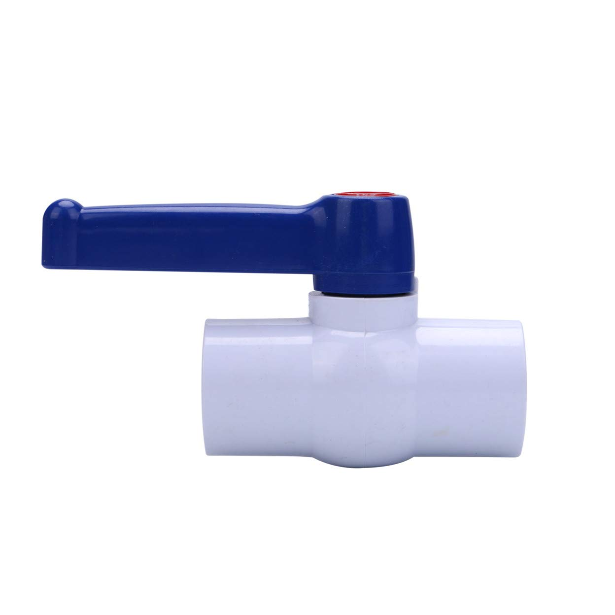 SHMONO 3//4 Inline PVC Ball Valve Female Thread x Female Thread Water Shut-Off Valves 2 Pack