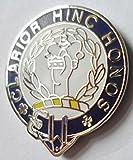 """Buchanan """"Clarior Hinc Honos"""" Scottish Clan Name Crest Enamel and Metal Pin Badge"""