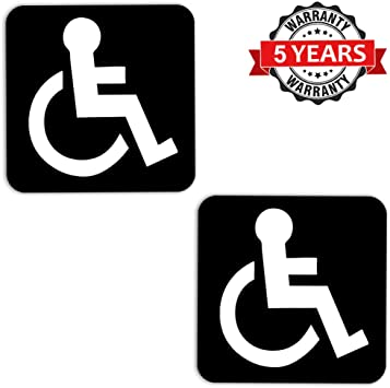 Handicap Logo Novelty License Plate Tag Sign