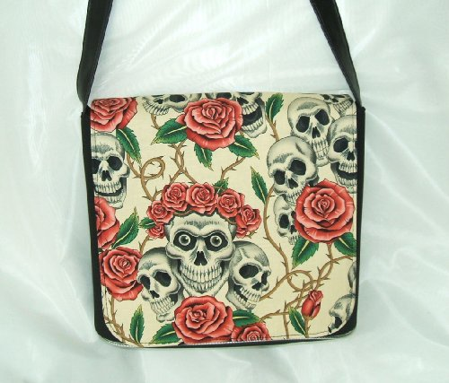 Rose Tatto Beige Messenger by Gifts and Beads
