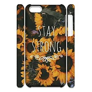 linJUN FENGStay Strong Customized 3D Cover Case for iphone 4/4s,custom phone case ygtg609286