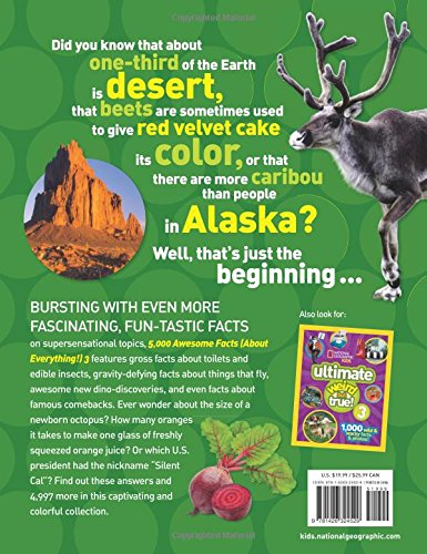 5,000 Awesome Facts (About Everything!) 3 (National Geographic Kids) - coolthings.us