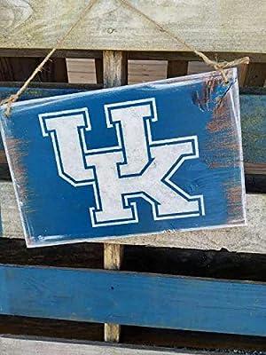 Zora Camp University of Kentucky Sign University of Kentucky Pride Sign Big Blue and White UK Sign Kentucky UK Sign Man Cave UK Sign UK Lover