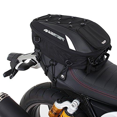 Motorrad Hecktasche Bagster Spider - 15-23 L schwarz