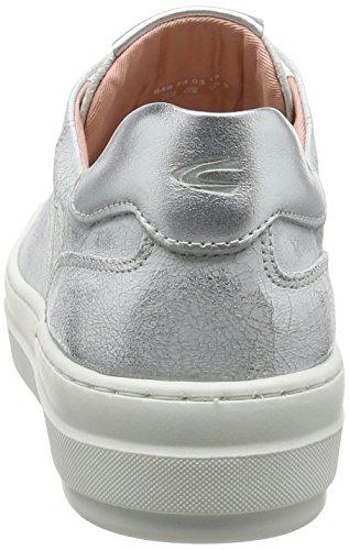 Kamel Aktiv Dame Top 74 Sneakers Weiß (hvid-sølv 01) Rm0DuoW
