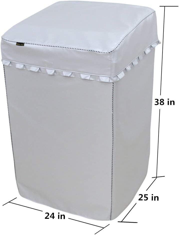 Portable Washing Machine Cover,Top Load Washer Dryer Cover,Waterproof Full-Automatic//Wheel Washing Machine Cover 242538inches X-Large