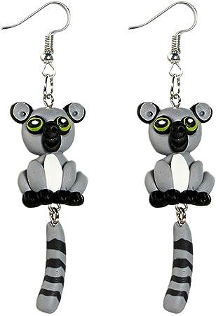 boucles d'oreilles pendantes animaux