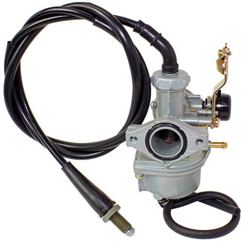 CALTRIC CARBURETOR FITS HONDA TRX125 TRX 125 FOURTRAX 125 2X4 1987-1988 w/Throttle Cable (Honda 125 Fourtrax)