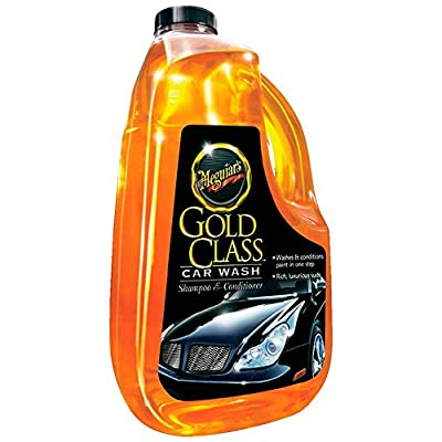 Meguiar's Gold Class Car Wash Shampoo & Conditioner 1 Gallon (128 oz)...