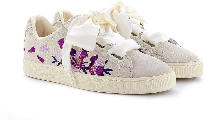 scarpe puma donna con fiori