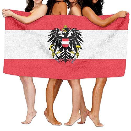 Austria State Flag Super Soft and Absorbent Unisex Bathroom Towels