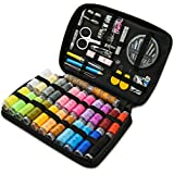 Sewing Kit, Travel Sewing Kits Premium DIY Sewing Accessories with Thread, Needles, Scissors, Buttons, Tape Measure and More, Portable Mini Sewing Supplies for Kids, Adults, Beginners, Emergency
