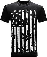 United States of Amarijuana 420 Pot Weed Stoner Marijuana Men's Funny T-Shirt