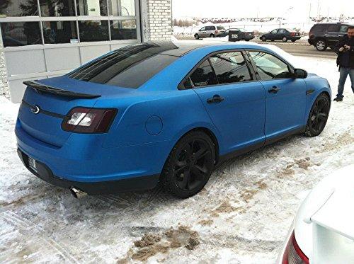 Matte Blue Car >> Matte Metallic Blue Car Wrap Vinyl Roll With Air Release 3mil Vvivid8 6ft X 5ft Hood Roof Or Trunk Wrap Kit