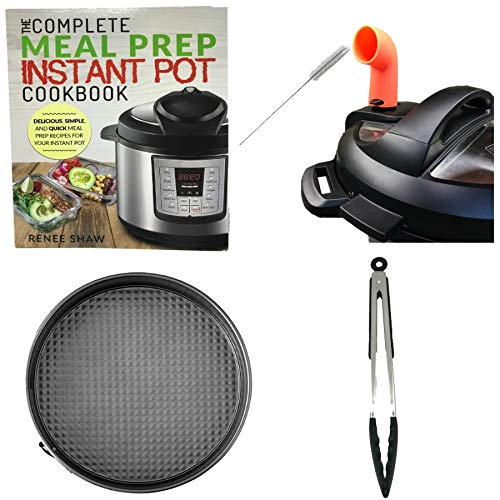 (Instant Pot 5 Pcs Accessories Starter Kit Compatible with IP 3, 5, 6 and 8 Qt. Duo Includes Steam Diverter with cleaning brush, 8