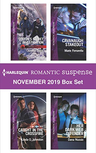 Harlequin Romantic Suspense November 2019 Box Set by Justine