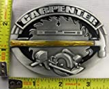 Carpenter Metal Belt Buckle Tools Table Saw Hammer Level New