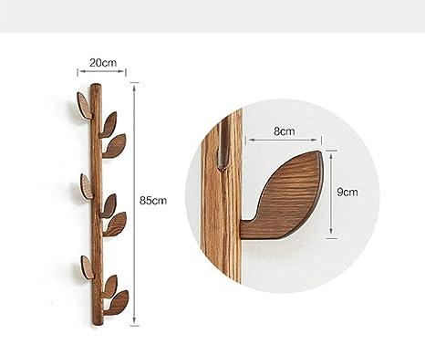 XQY Colgadores de pared para el hogar, Ropa de madera Tienda ...