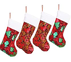 Personalized Sequin Christmas Stockings