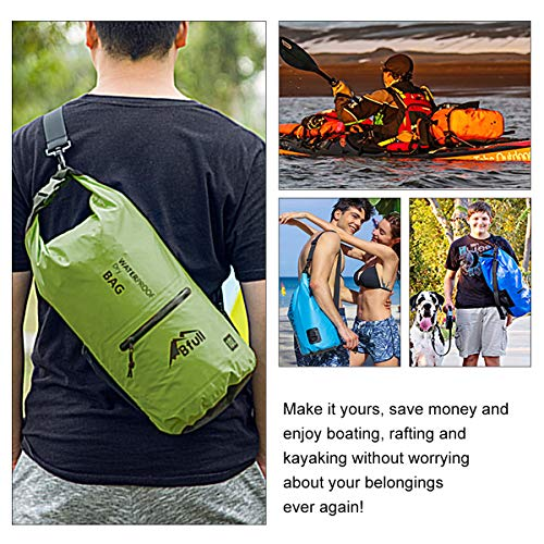 BFULL Waterproof Dry Bag 10L 20L  Lightweight Compact  Roll Top Water Proof  Backpack e31cae67d679a