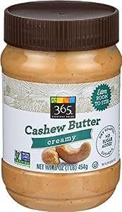 365 Everyday Value, Cashew Butter Creamy, 16 oz