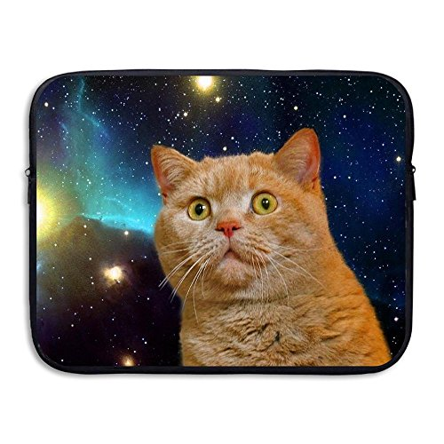 CHERINA RHEA Computer Bag Laptop Case Sleeve Bag Space Cat Waterproof 13-15 Inch For IPad Air Macbook Pro Surface Book Notebook Ultrabook