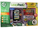 Leap Frog Leap Pad 2 Crayola Creativity Pack Bundle Pink! Includes LeapFrog LeapPad2 Learning Tablet with 4GB Memory plus Exclusive Bonus Crayola Accessories!