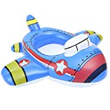 Verintex See Me Sit Inflatable Pool Ride for Kids of Age 1-5 | Kids Kiddie Pool Ride | Durable | Premium Quality | Pool Floats for Childrenl (Plane)