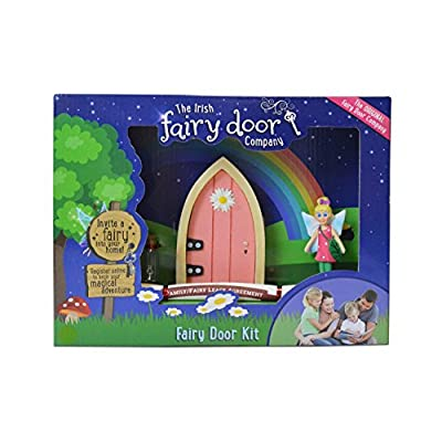 The Irish Fairy Door Company - Welcome Kit Pink: Toys & Games