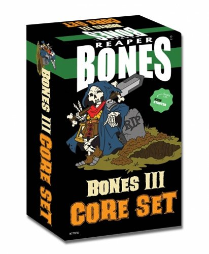 Reaper Miniatures Bones 3 Core Boxed Set #77956 150+ Plastic Unpainted Figures