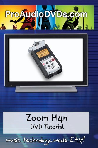 Zoom H4n Handy Portable Digital Recorder DVD Video Training Manual (Recorder Manual)